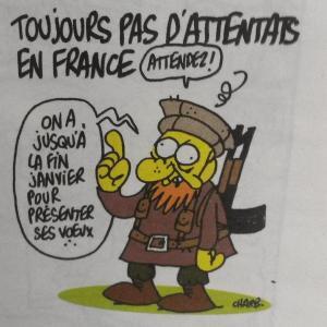 Dernier dessin de Charb